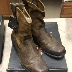 Harley Davidson Boots lowcasters Brown